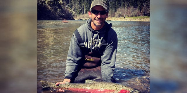 .Scott Turner caught a 39.25-inch-long steelhead while fishing on the South Fork Clearwater River.