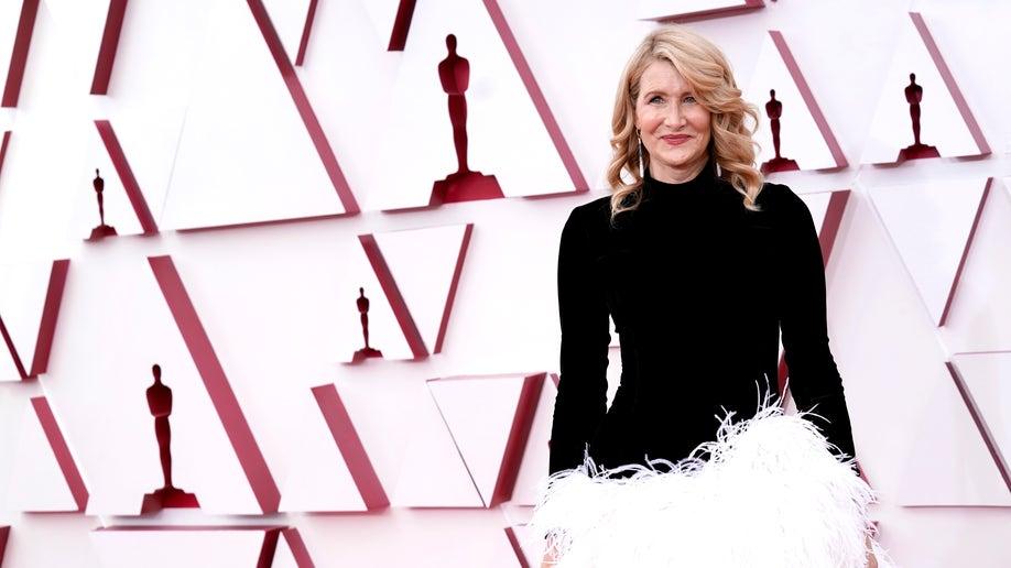 Laura Dern oscars 93rd academy awards 2021
