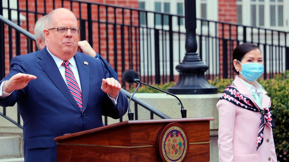 Maryland Gov. Larry Hogan vetoes 3 police reform measures