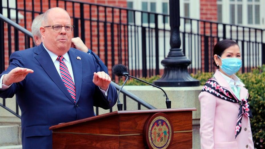 Maryland Gov. Larry Hogan vetoes 3 police reform measures