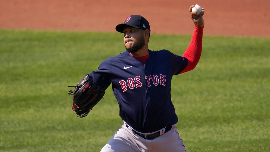 Rodríguez wins for Red Sox in return from year-long layoff