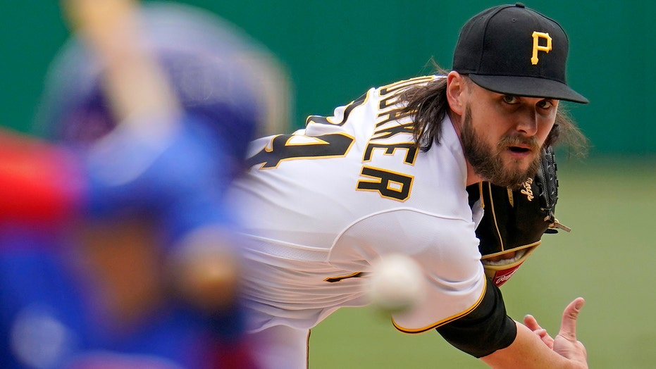 Brubaker pitches, hits Pirates to 7-1 win over slumping Cubs