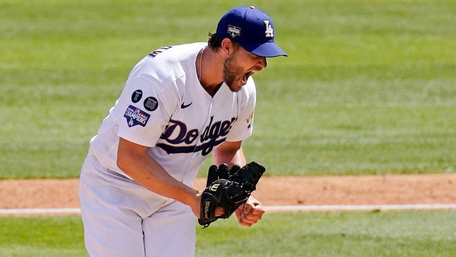 Kershaw barely outduels Scherzer, Dodgers sweep Nats 3-0