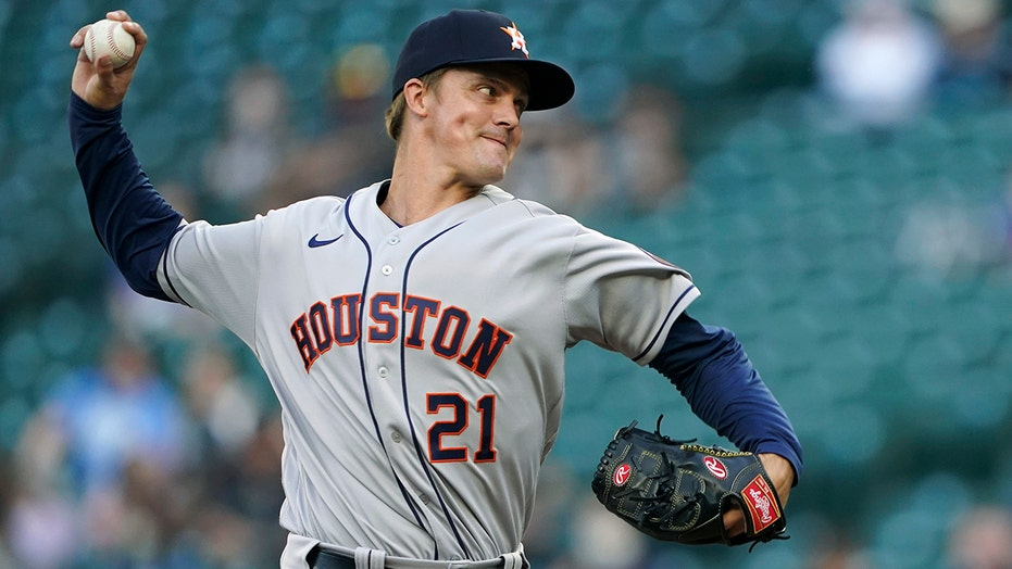 Greinke sharp, Astros end 6-game skid, beat Mariners 1-0