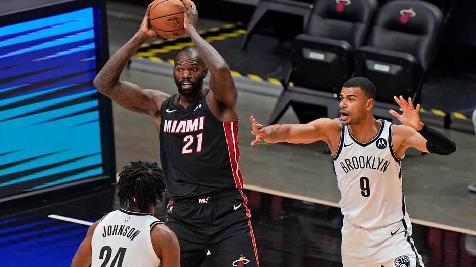 Bam! Adebayo's jumper lifts Heat past Nets, 109-107