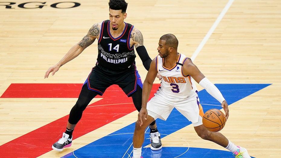 Paul, Booker lead Suns past undermanned 76ers, 116-113