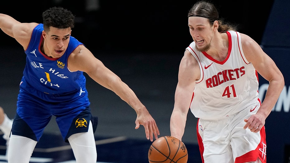Porter scores career-high 39 points, Nuggets beat Rockets