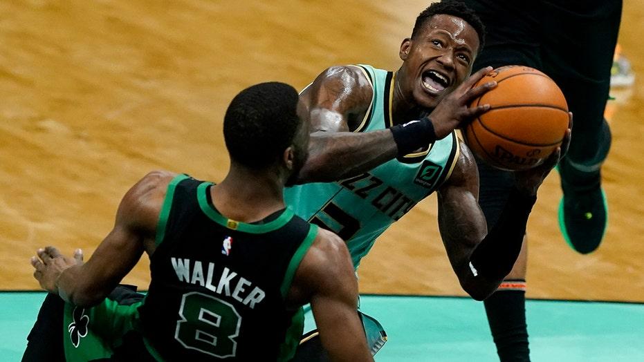 Graham scores 24 as Hornets rout Celtics 125-104