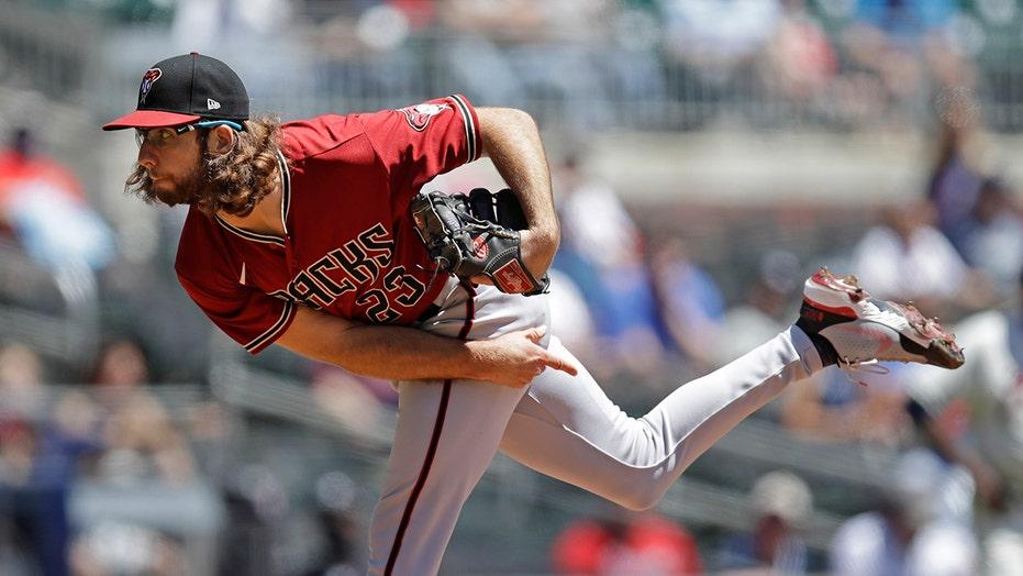 Gallen 1-hit, 7-inning shutout, D-backs top Braves in opener