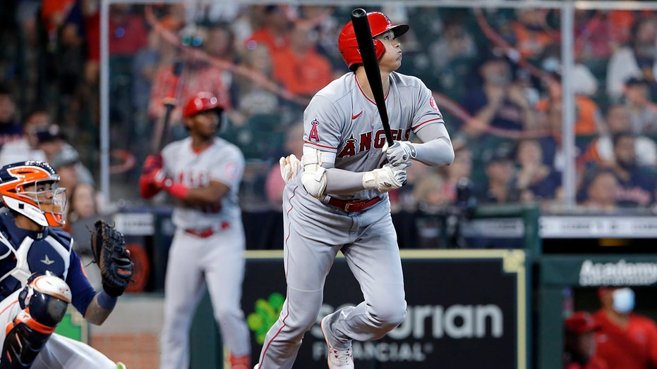 Ohtani's HR helps Angels end skid with 4-2 win over Astros