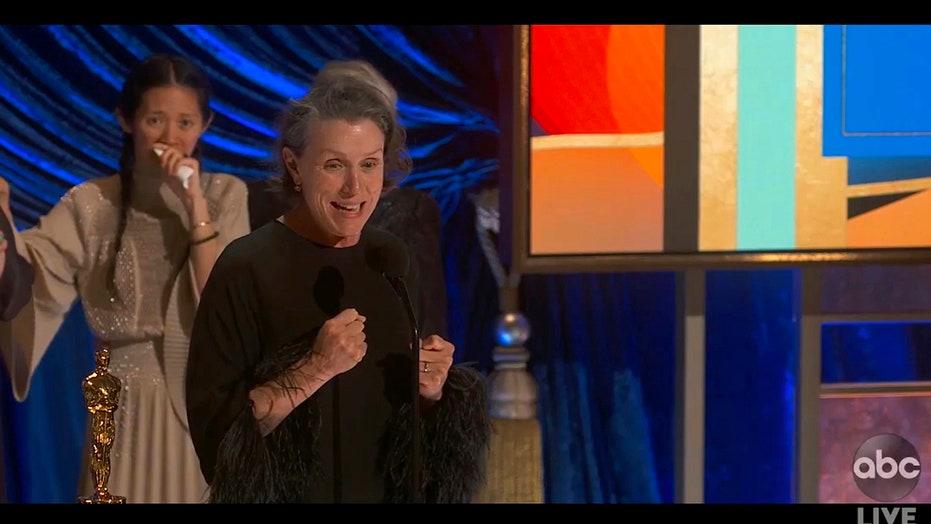 Frances McDormand howls during viral 'Nomadland' acceptance speech