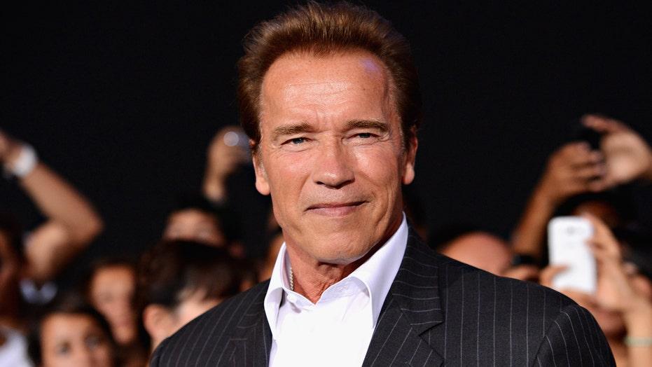 Arnold Schwarzenegger weighs in in on the California recall