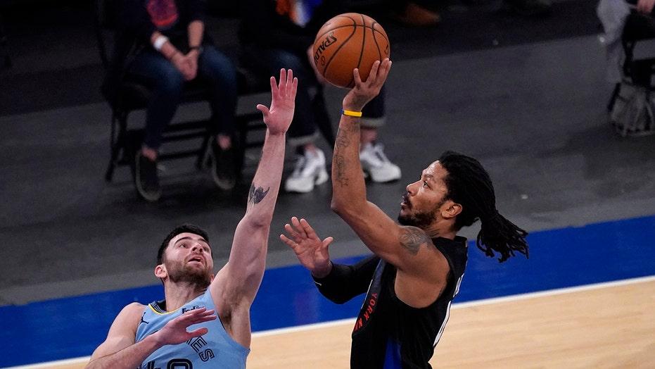 Knicks rally late, snap Grizzlies' 4-game win streak in OT