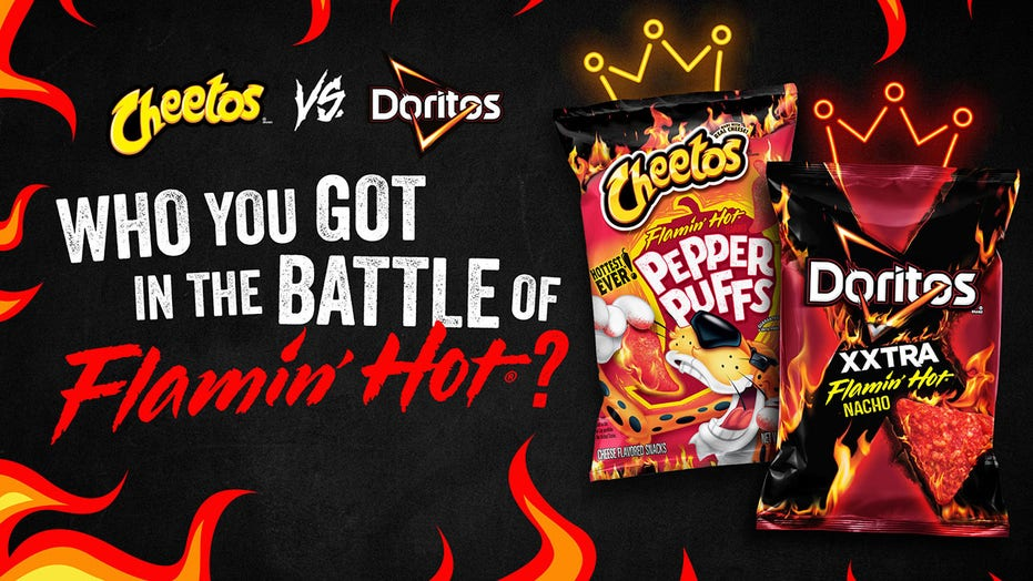 Doritos and Cheetos announce face off to determine the hottest chip