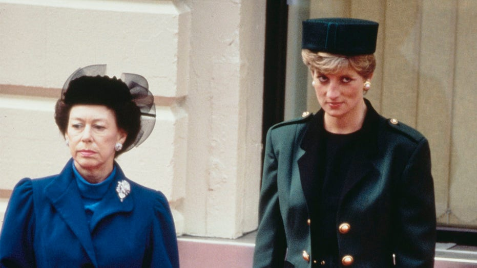 Princess Diana was once embraced by Princess Margaret until 'the guillotine came down' with tell-all: book