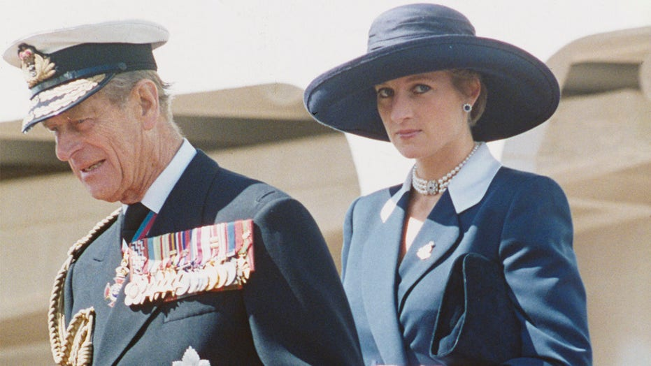 Prince Philip supported Princess Diana during her rocky marriage to Prince Charles, author says