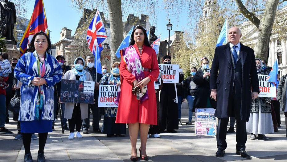 UK lawmakers pass motion saying China committing genocide