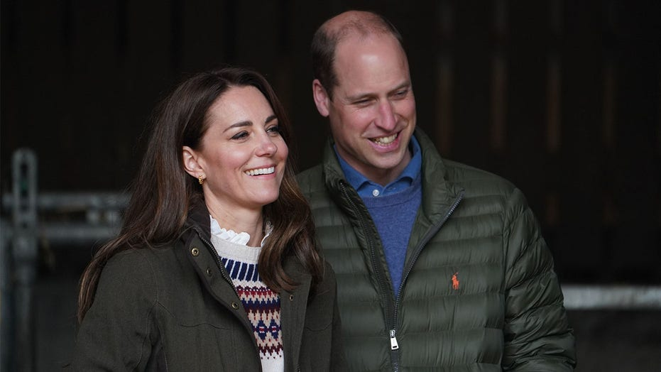 Prince William, Kate Middleton visit local farm for first public engagement since Prince Philip's death