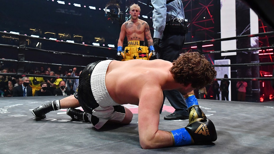 Ben Askren's reaction post-match goes viral after getting knocked out by Jake Paul