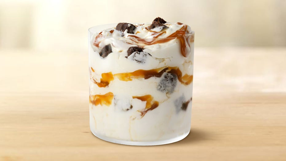 McDonald's announces new Caramel Brownie McFlurry