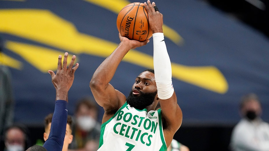 Celtics star Jaylen Brown addresses Daunte Wright shooting death after team's win