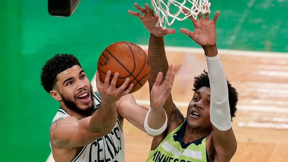 Tatum's career-high 53 help Celtics top T-Wolves 145-136