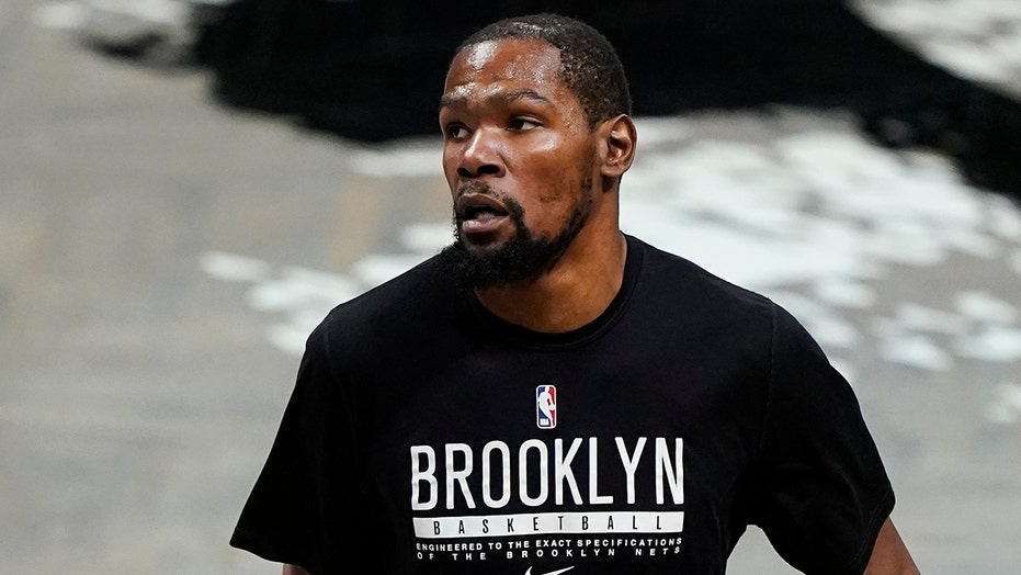 Kevin Durant subjected to 'KD sucks' chants as Nets fall to 76ers