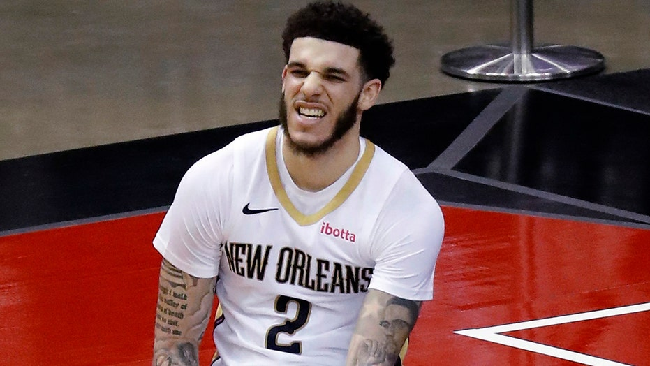Ball makes career-best 8 3s as Pelicans beat Rockets 122-115