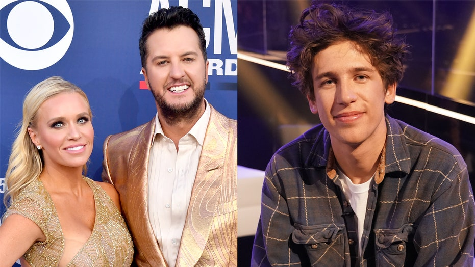 'American Idol' judge Luke Bryan's wife addresses rumor contestant Wyatt Pike departed over 'fight' with star