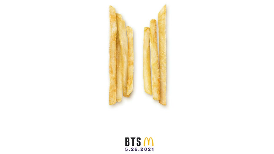 McDonald's BTS packaging being sold on eBay