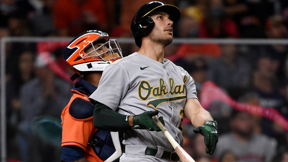 Olson's 3-run blast lifts Athletics to 6-2 win over Astros