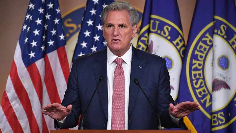 McCarthy issues apparent rebuke of reported GOP caucus platform promoting 'Anglo-Saxon political traditions'