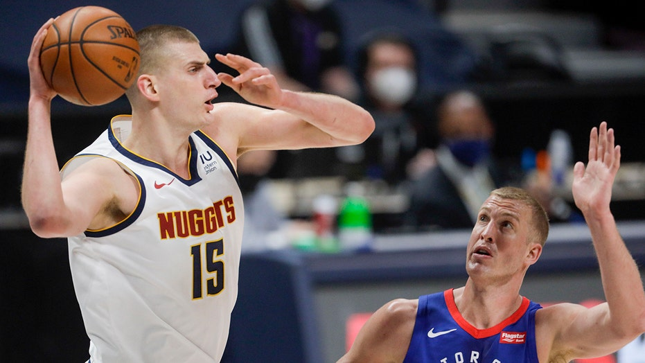 Nikola Jokic's 27 points leads Nuggets past Pistons 134-119