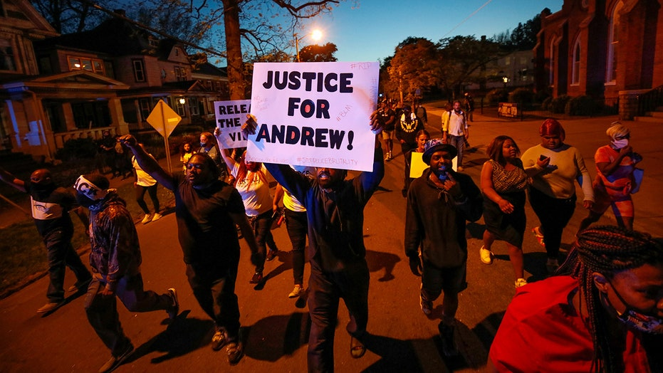 Andrew Brown shooting: North Carolina city rolls back curfew as protests remain peaceful
