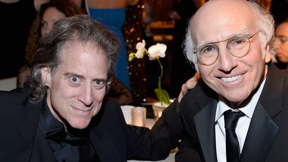 'Curb Your Enthusiasm' star Richard Lewis reunites with Larry David for filming after surgeries: 'So grateful'