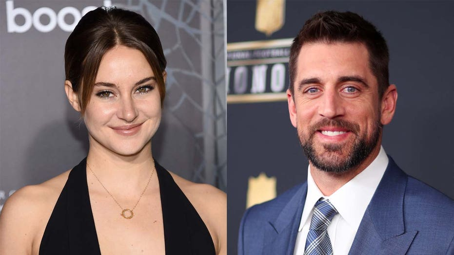 Shailene Woodley calls 'Jeopardy!' guest host Aaron Rodgers 'super sexy' in man bun