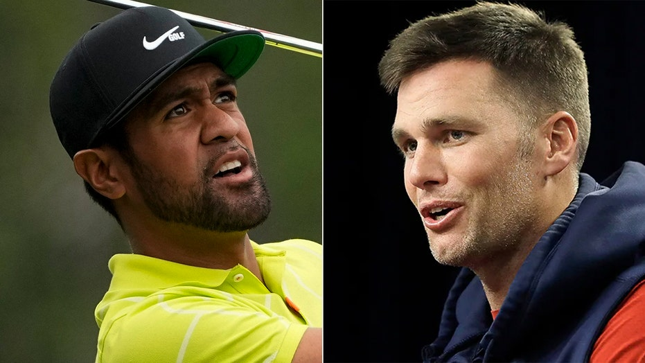 Tom Brady calls Tony Finau during Masters rain delay