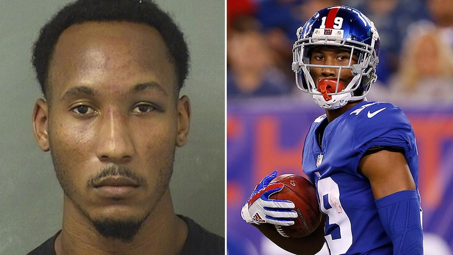 Former Giants wide receiver Travis Rudolph arrested on murder charge after Florida shooting