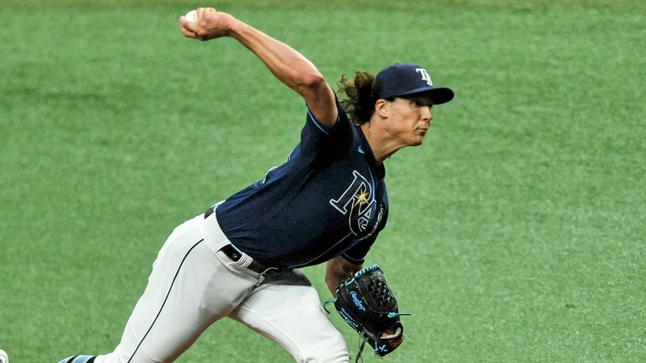 Glasnow fans 14, Adames homers as Rays blank Rangers 1-0