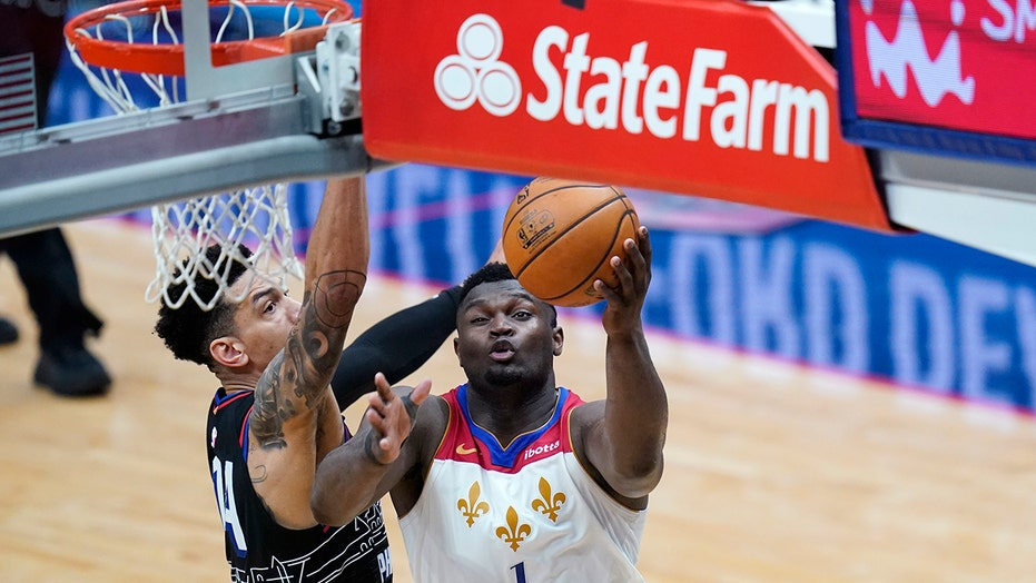 Williamson scores 37 points, Pelicans beat 76ers 101-94