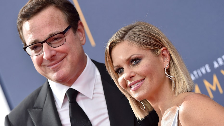 Bob Saget defends Candace Cameron Bure against claims she's 'fake': 'You're a positive person'