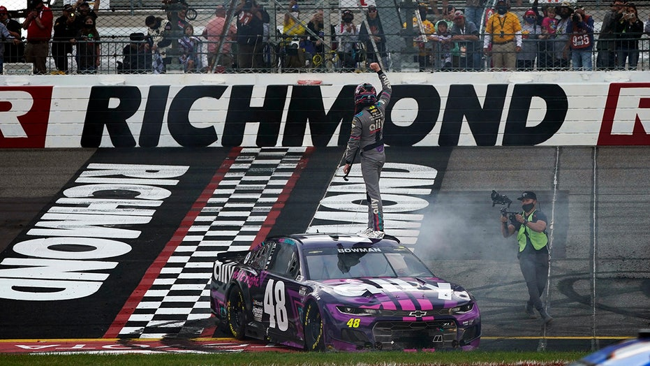 Bowman wins late in Richmond NASCAR Cup Series race