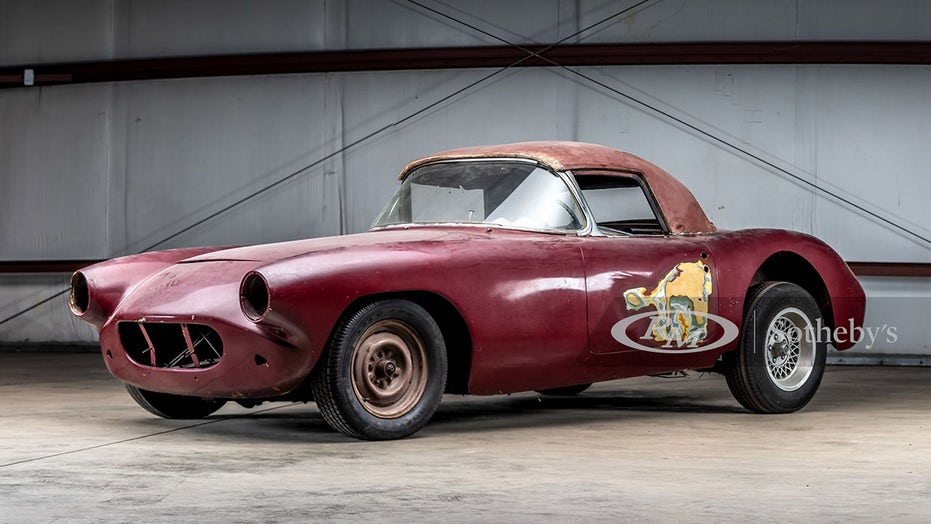 Long-lost 1960 Chevrolet Corvette racecar could be worth $1.3 million