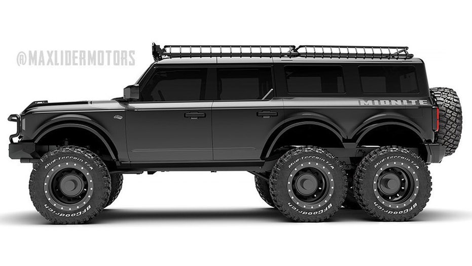 Ford Bronco 6×6 with three row seating revealed for $399,000