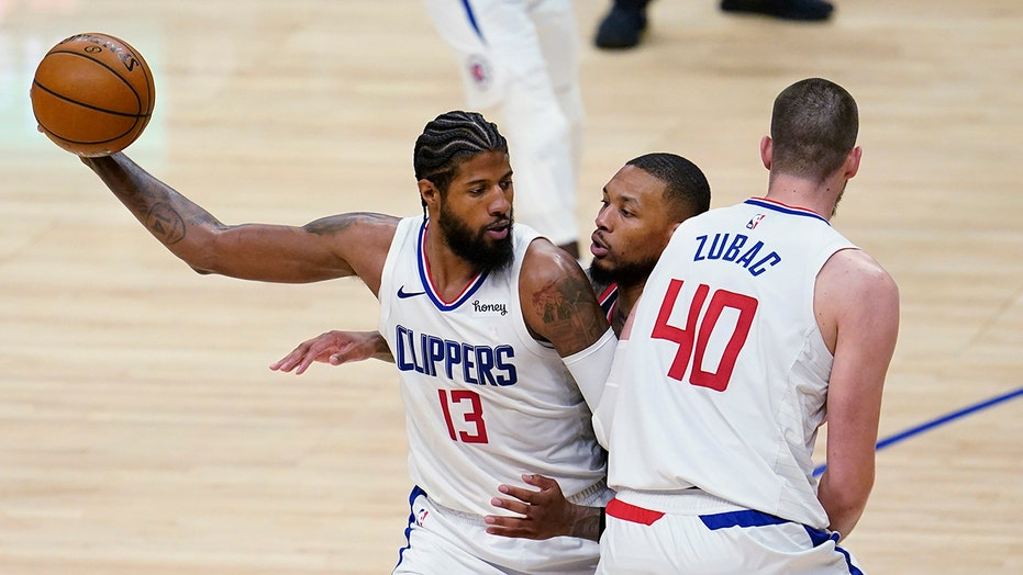 George scores 36, Clippers rout Trail Blazers 133-116