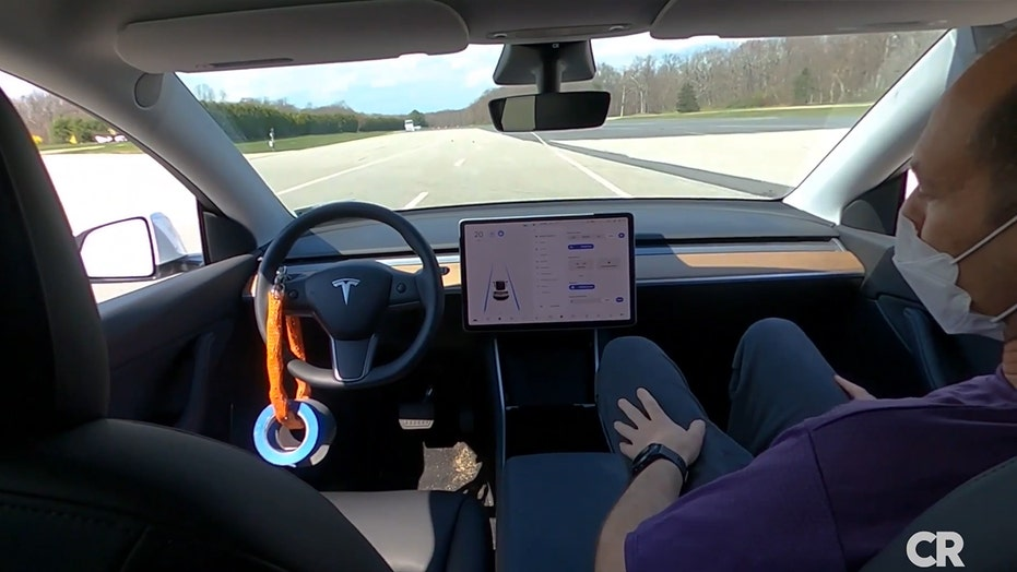 Consumer Reports test shows how Tesla's Autopilot can operate without anyone in the driver seat