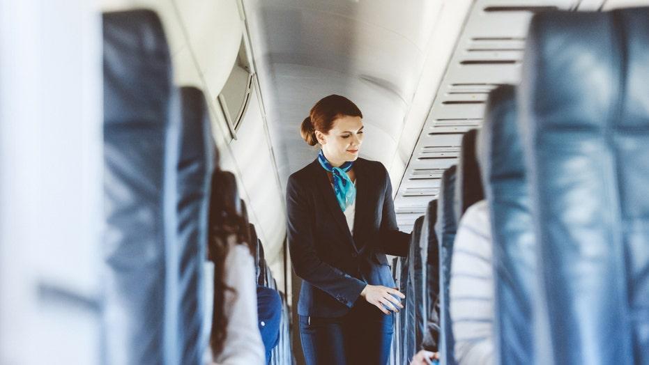Flight attendant reveals why crew greet passengers during boarding