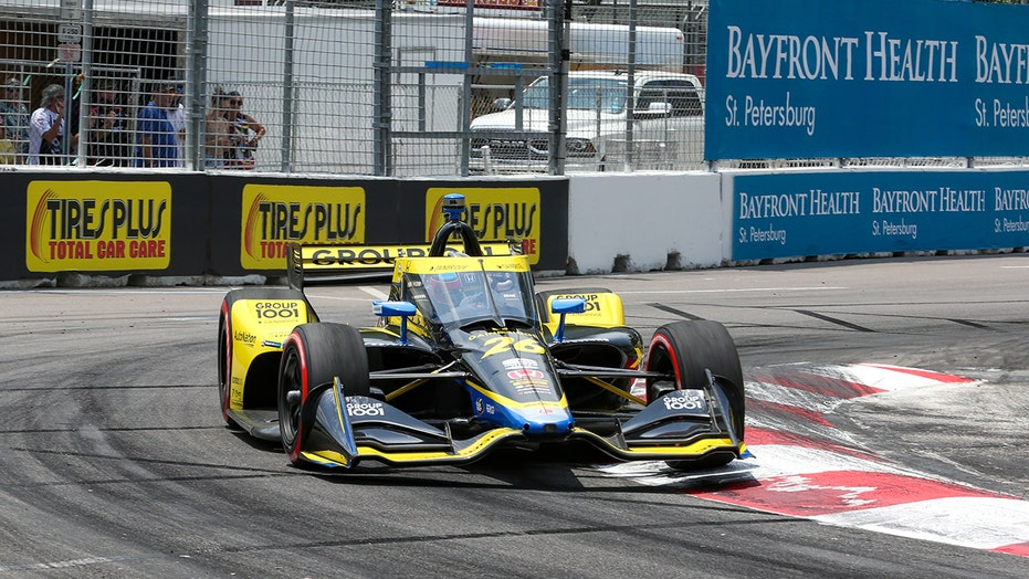Colton Herta ties father Bryan with 4th IndyCar win