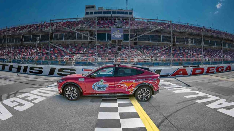 Electric Ford Mustang Mach-E to pace NASCAR Talladega Cup Series race