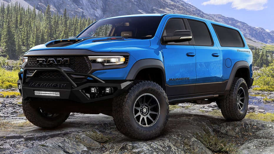 Hennessey's Ram 1500 TRX Mammoth 1000 SUV lives up to its name